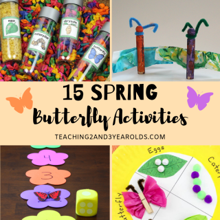 15 spring butterfly activities
