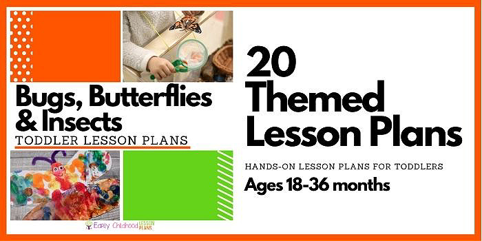 Toddler Lesson Plans Bugs and Butterflies