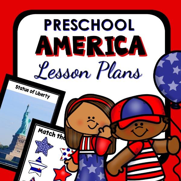 Preschool America Lesson Plans