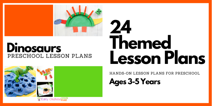 preschool lesson plans dinosaurs