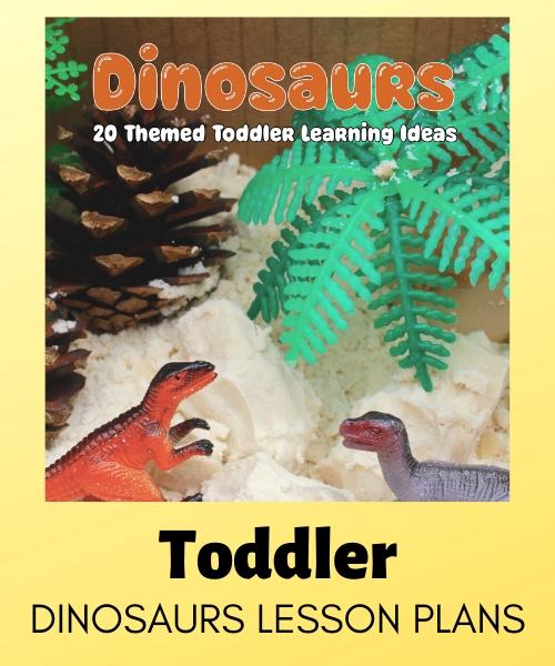Toddler dinosaur lesson plans