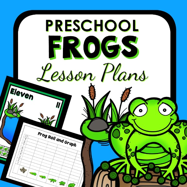 Preschool Frogs Lesson Plans