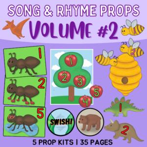 preschool song & rhymes pack #2