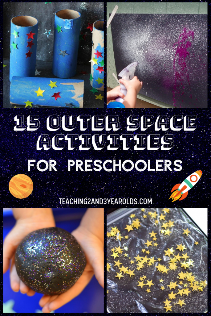 15 Amazing Preschool Space Activities