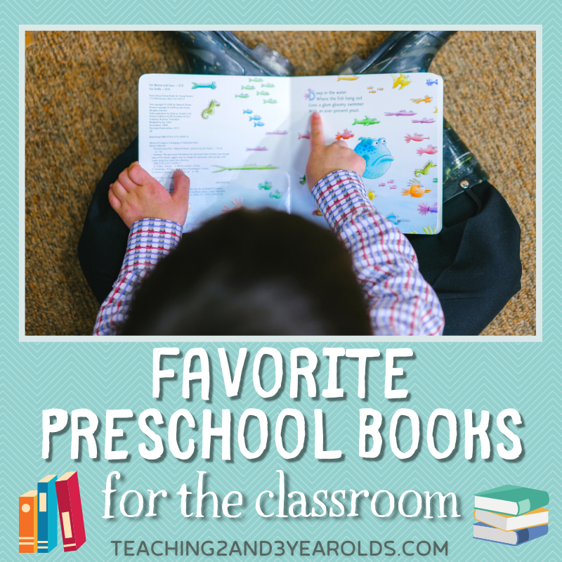 Favorite Preschool Books for Your Classroom Library