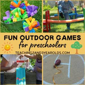 20 Fun Outdoor Games for Preschoolers