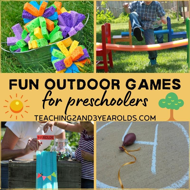 15 Fun Outdoor For Preschoolers