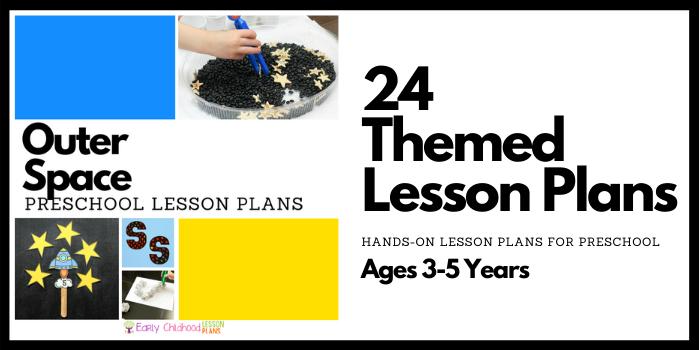 preschool lesson plans space