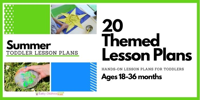 toddler summer lesson plans