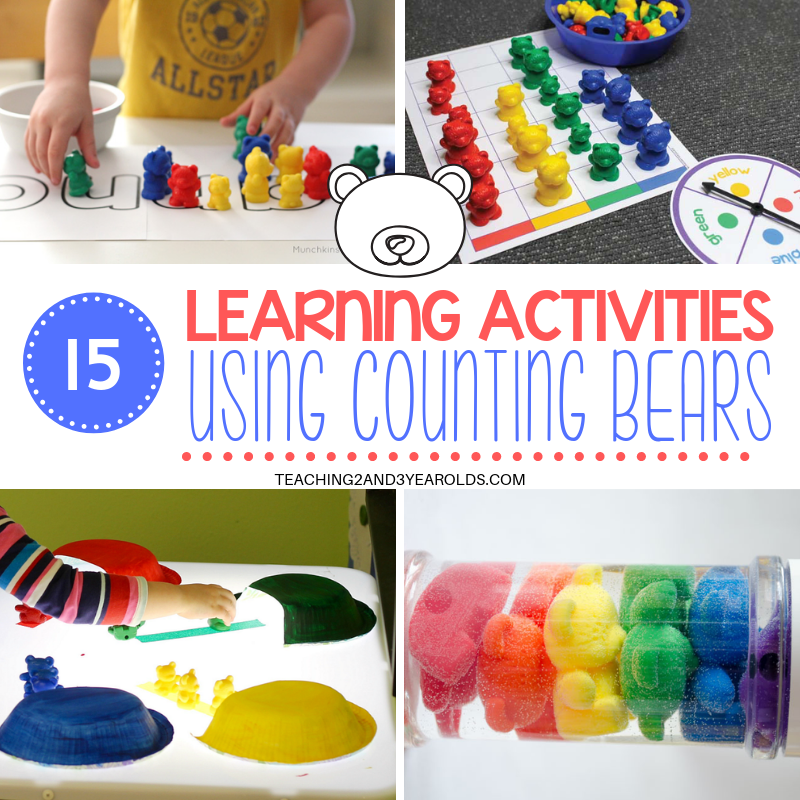 15 Playful Counting Bears Activities Kids Love