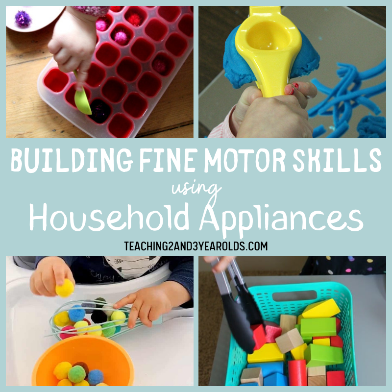 How to Build Fine Motor Skills Development Using Household Utensils