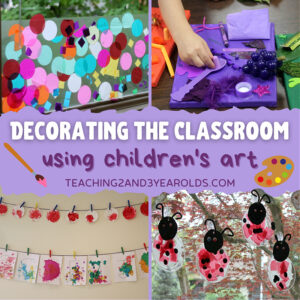 decorating the classroom