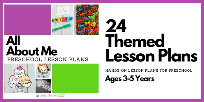 Preschool Lesson Plans All About me