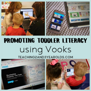 Promoting Toddler Literacy Skills with Vooks