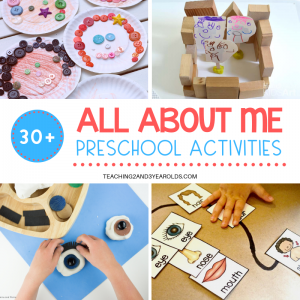 30+ All About Me Theme Activities for Preschoolers