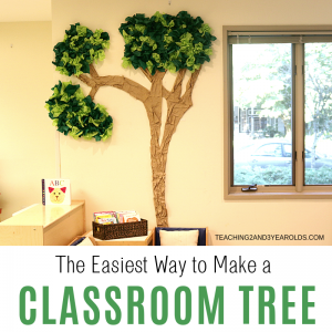 How to Make a Simple Classroom Tree