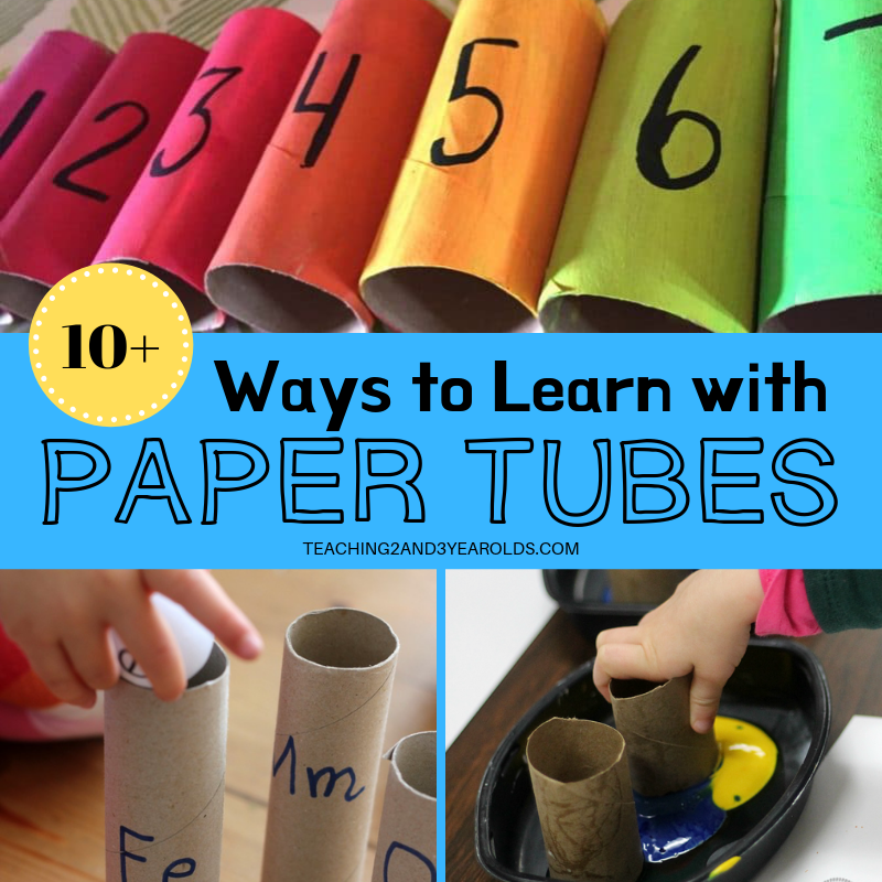 10+ Toilet Paper Roll Activities for Kids