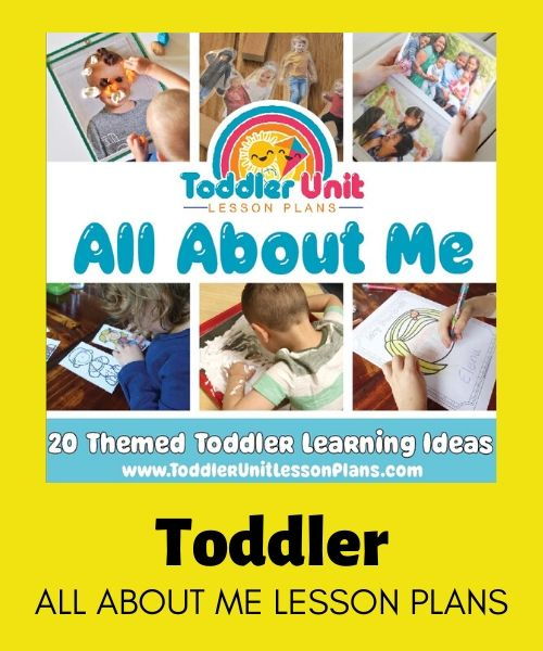 toddler all about me lesson plans
