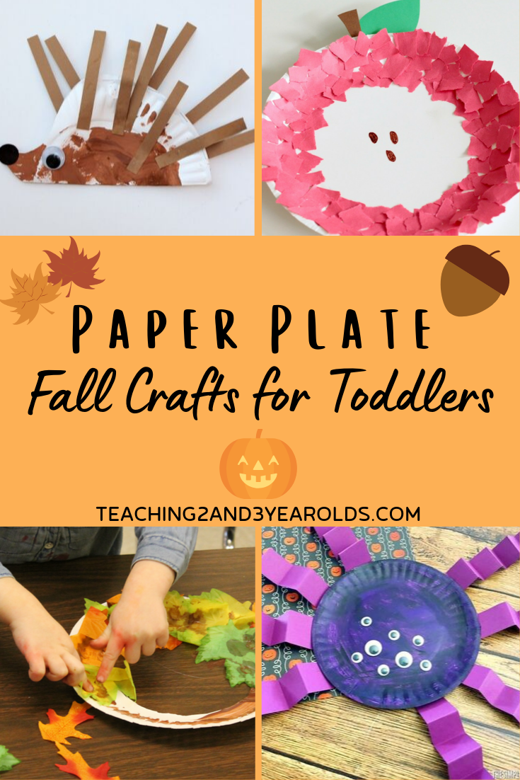 15 Paper Plate Fall Crafts For Toddlers And Preschoolers