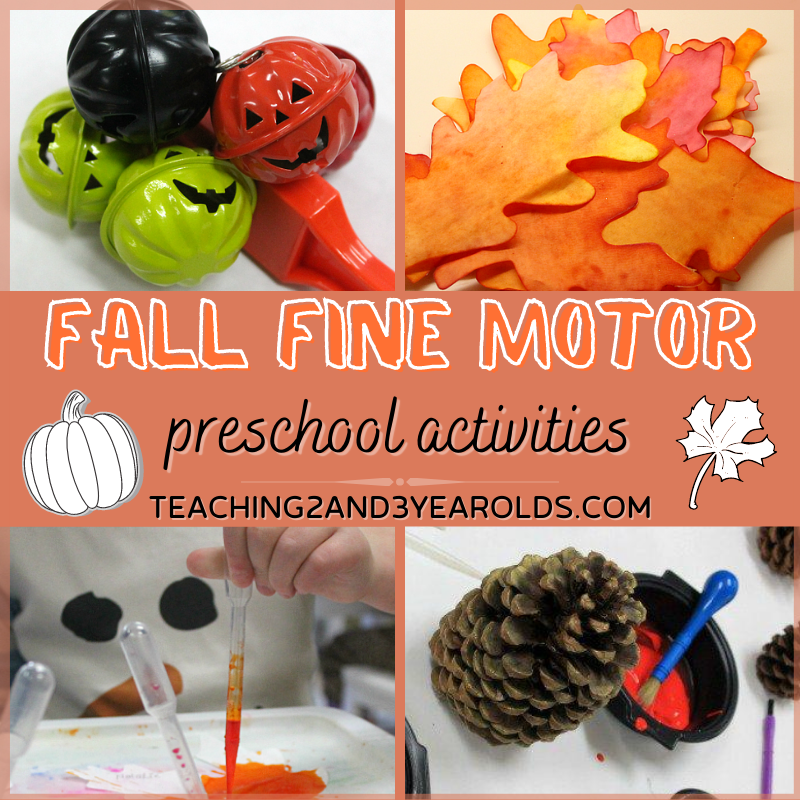 Amazing Collection of Fall Fine Motor Activities for Preschoolers