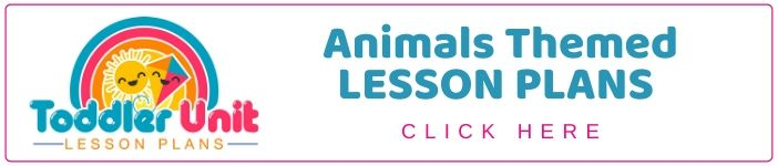 Toddler animals lesson plans