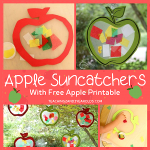 How to Make a Colorful Toddler Apple Craft