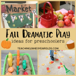 Dramatic Play Ideas for the Fall