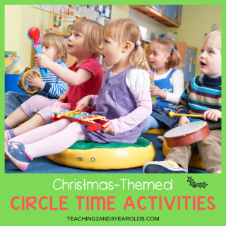 Christmas Circle Time Activities