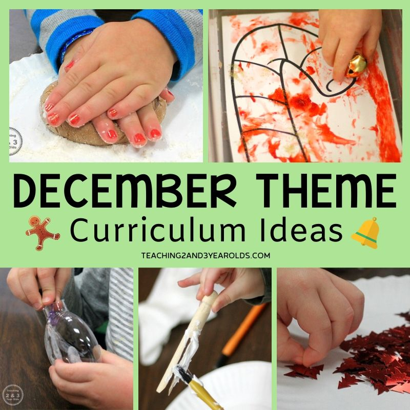 Preschool December Themes {Toddlers, too!}