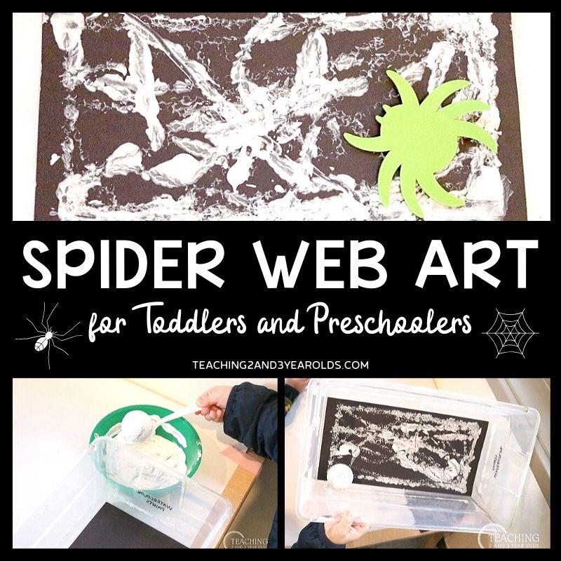 Easy Spider Art