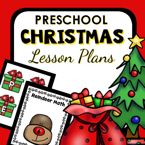preschool Christmas lesson plans