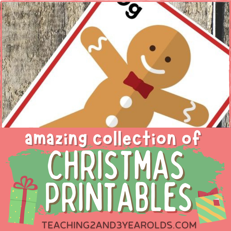 Amazing Collection of Free Christmas Printables for Toddlers and Preschoolers