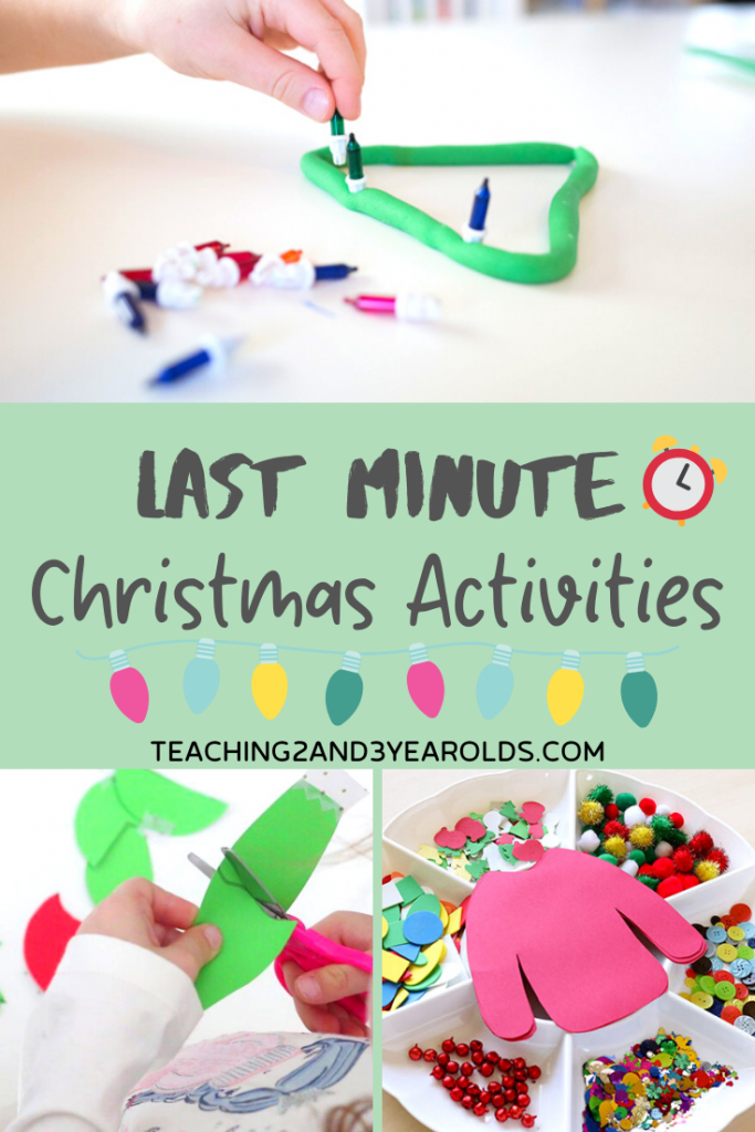 Last minute easy Christmas Activities