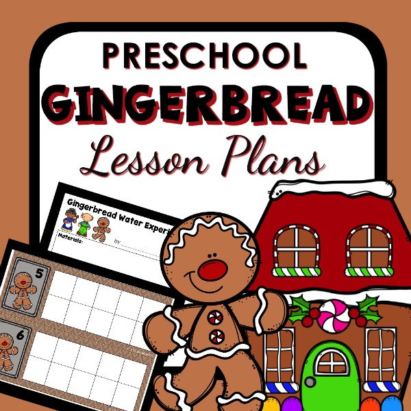 Preschool gingerbread lesson plans