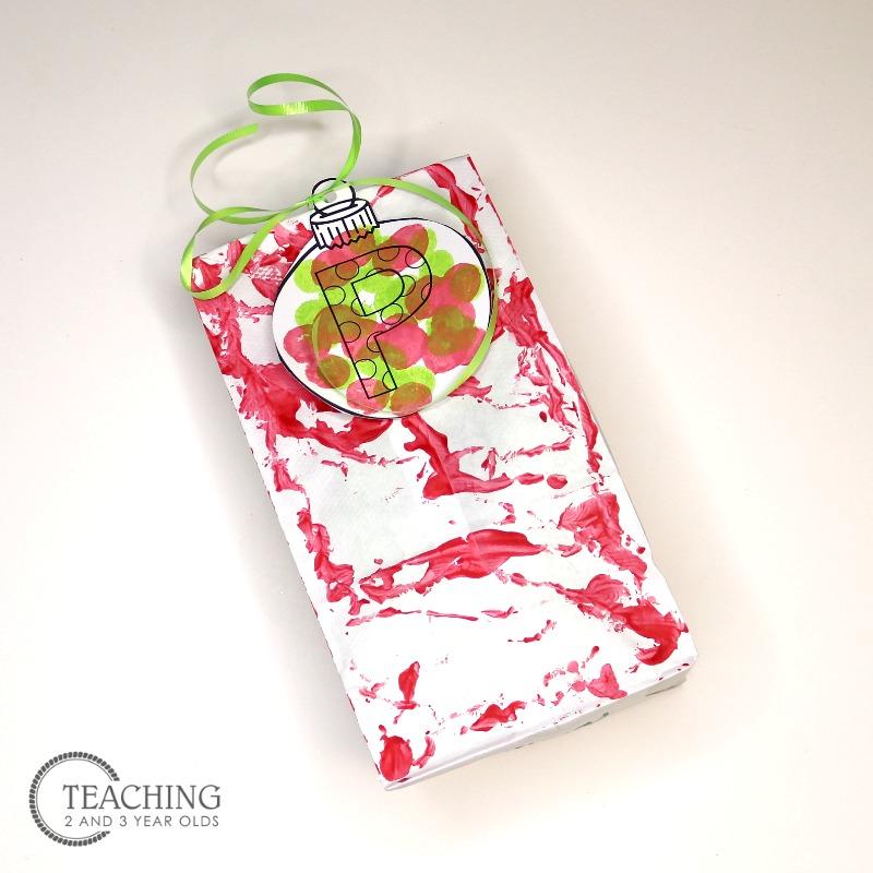 Homemade Christmas Gift Bags