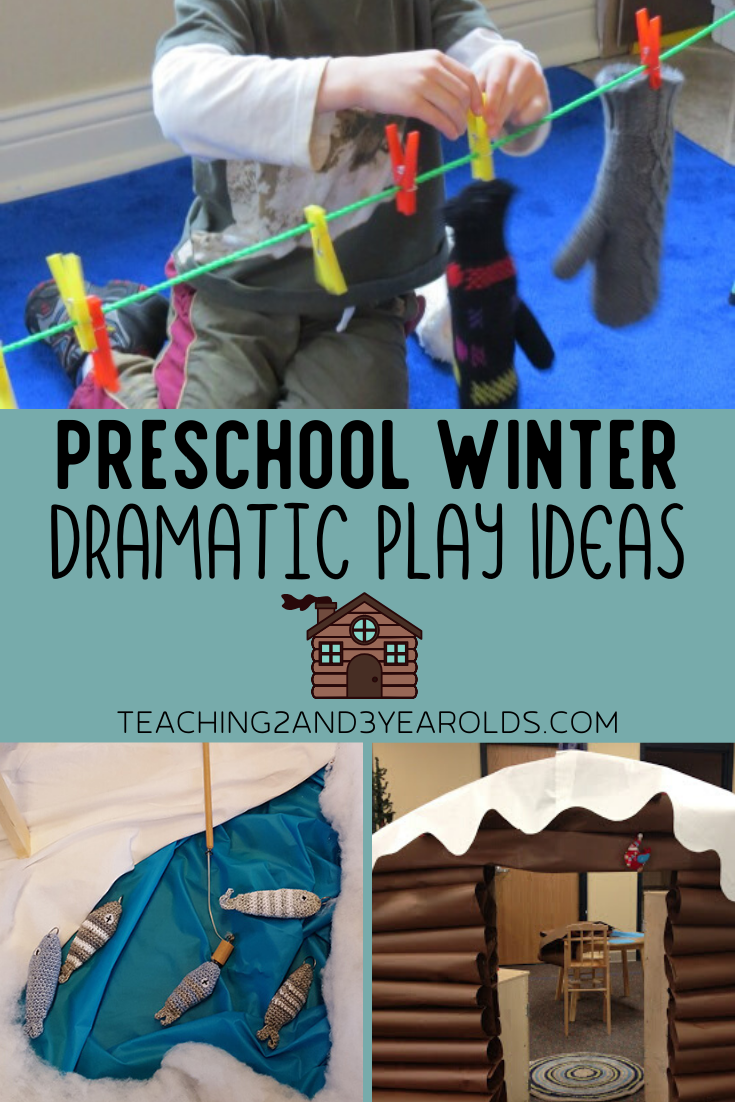 Creative Winter Dramatic Play Ideas