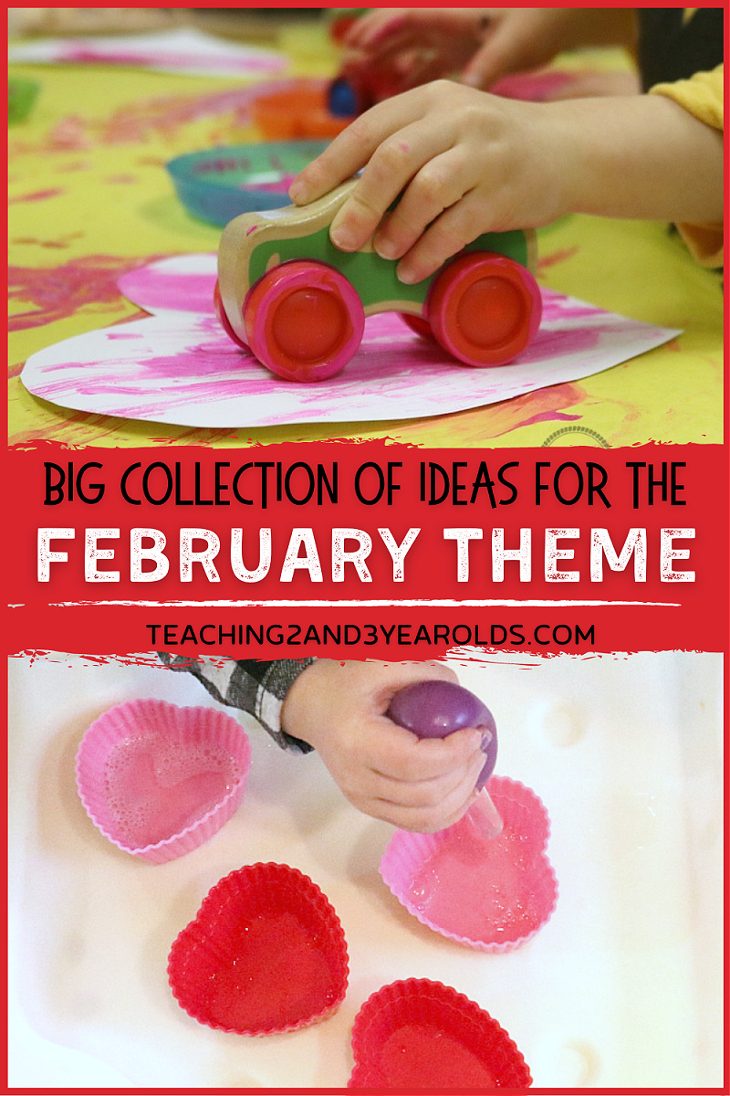 Ideas for February Preschool Themes