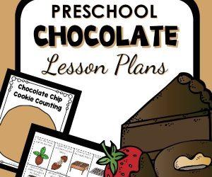 preschool chocolate lesson plans