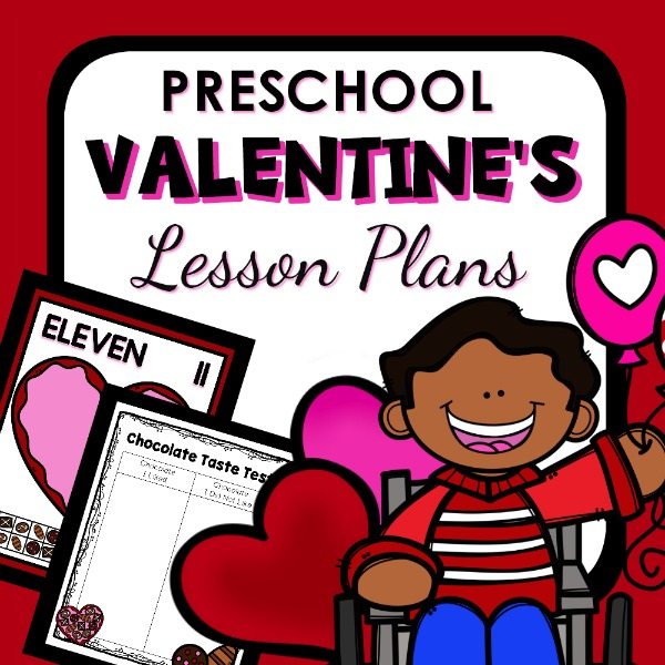 preschool Valentine's lesson plans