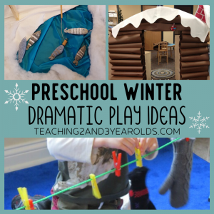 Creative Winter Dramatic Play Ideas