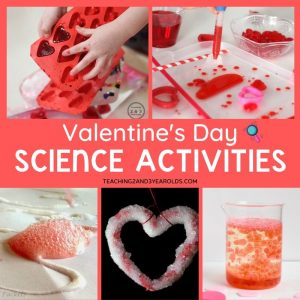 Preschool Valentine's Day Science Activities