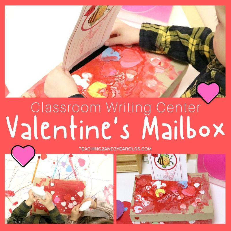 How to Make a Valentine's Day Mailbox for the Writing Center