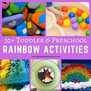 30+ Rainbow Activities Kids Love