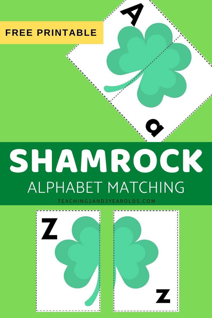 Shamrock Alphabet Activity
