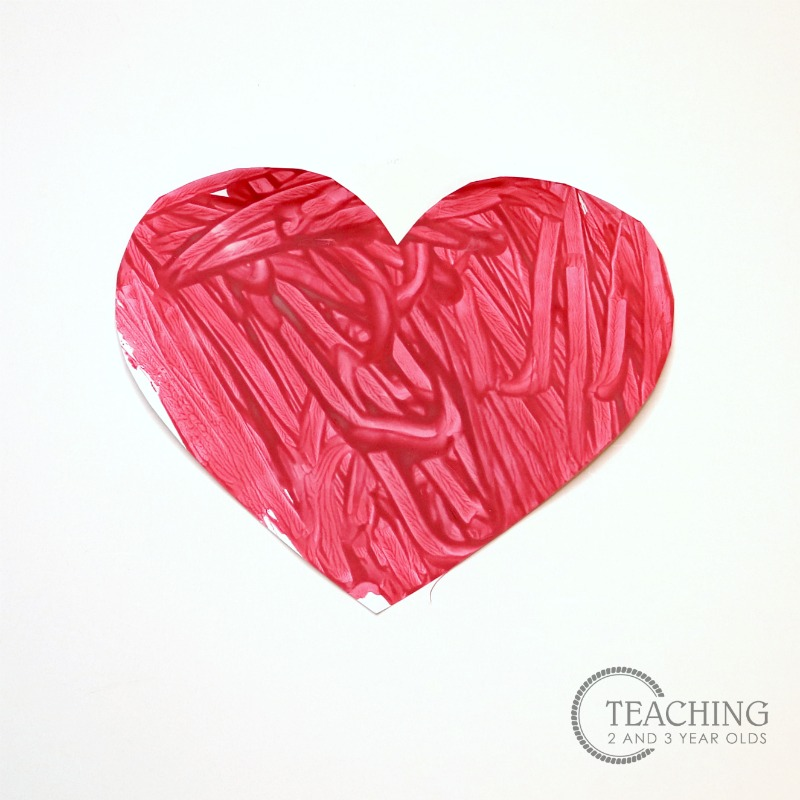 Valentine's Day Art for Toddlers