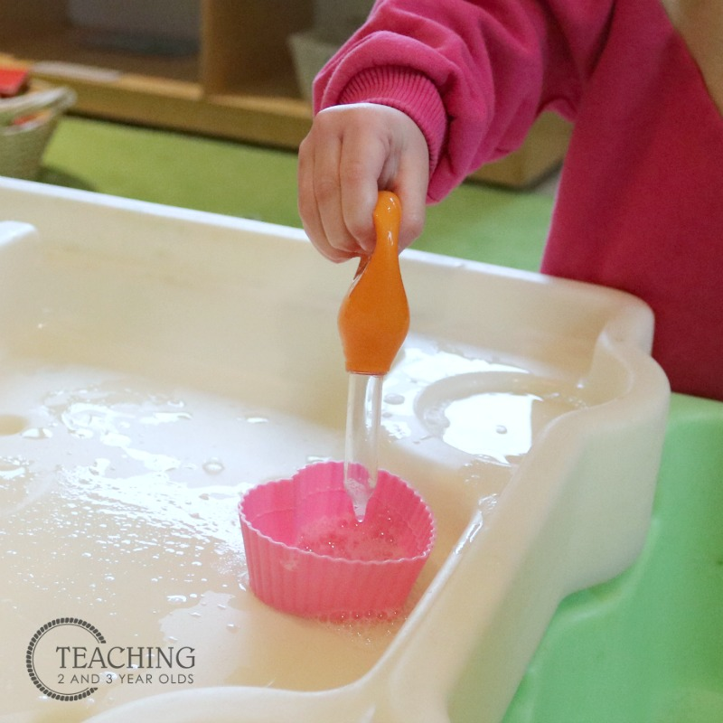 Filling the Hearts Valentine's Day Fine Motor Activity
