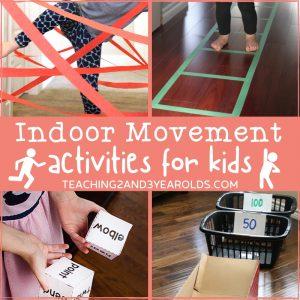 Indoor Movement Activities for Preschoolers