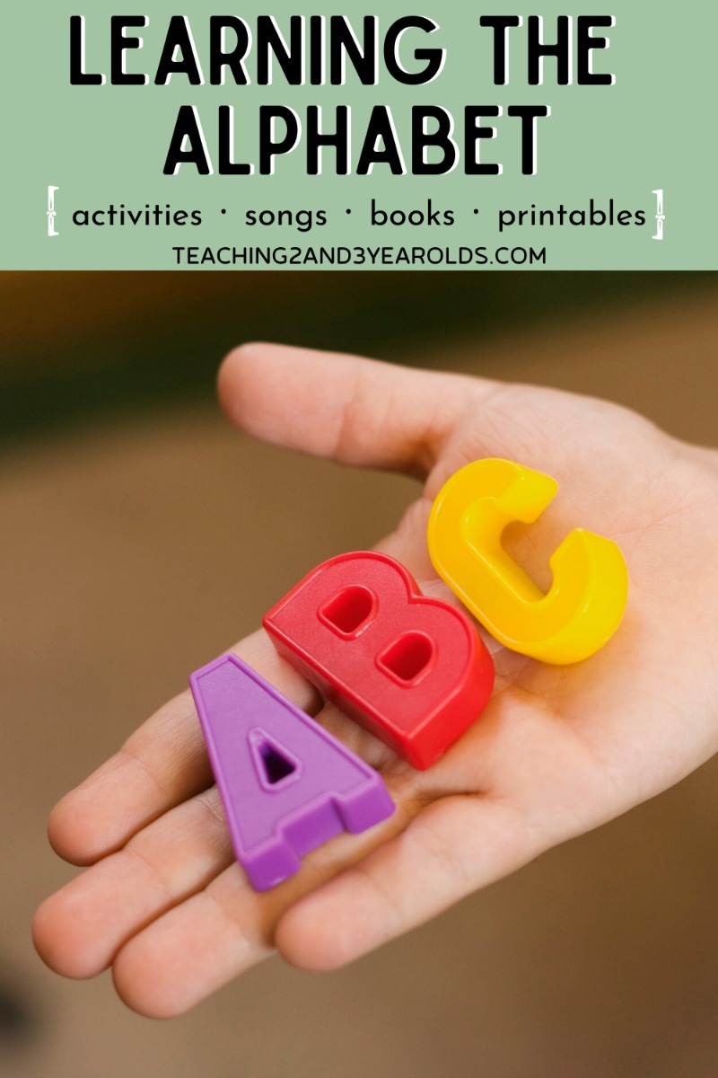 30 Awesome Ways to Teach the Alphabet -And You Won't Need Flashcards. Free printables included!
