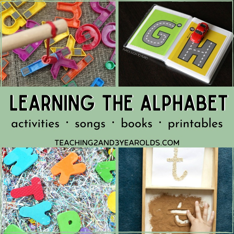30 Awesome Ways to Teach the Alphabet (Without Using Flash Cards)