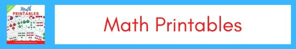 Toddler and Preschool Math Printables